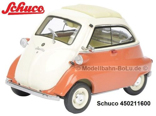 Schuco 450211600 BMW Isetta orange/beige 1:43