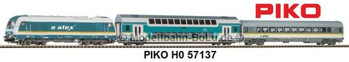 "PIKO H0 57137 Start-Set Personenzug ""ALEX"""