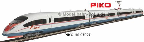 "PIKO H0 97927 Start-Set mit Bettungsgleis ICE 3 ""Sapsan"""